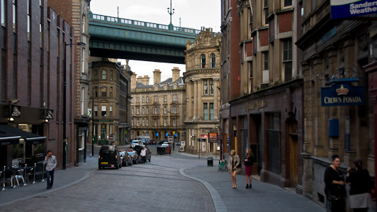 Bild: Strasse Newcastle