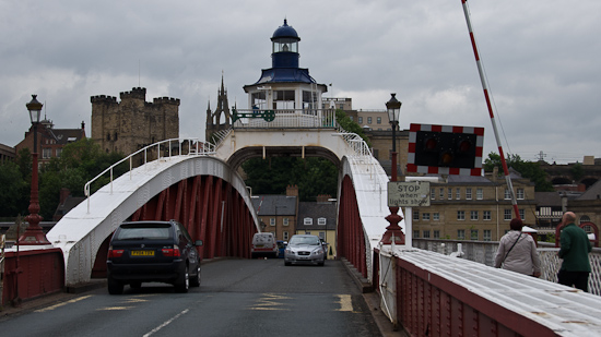 Bild: Swing Bridge in Newcastle