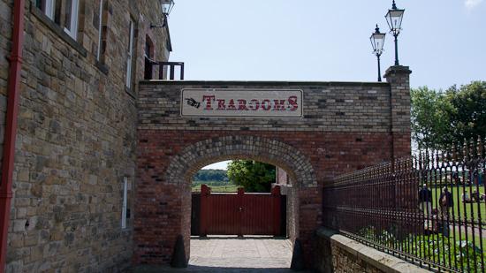 Bild: Teamrooms in Beamish