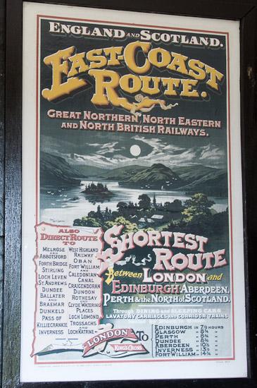Bild: Plakat East Coast Route
