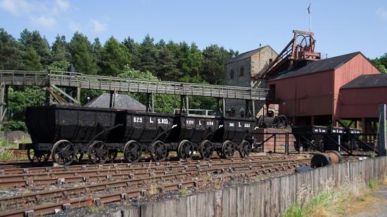Bild: Kohlemine in Beamish