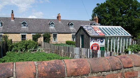 Bild: Vorgarten Pit Village in Beamish