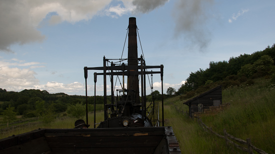 Bild: Steam Elephant in Beamish