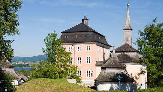 Bild: Schloss Seeburg in Seekirchen