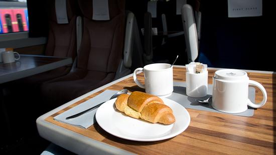 Bild: Frühstück in der East Coast Main Line
