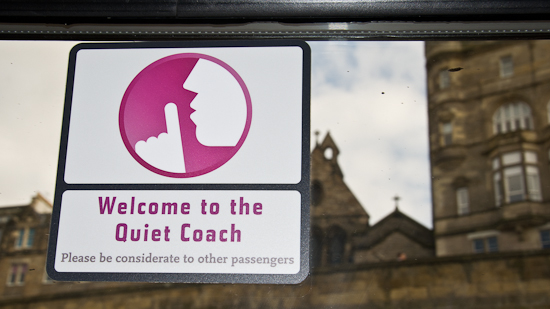 Bild: Quiet Coach East Coast Main Line