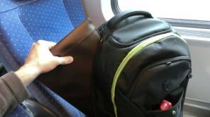 Bild: Laptoptasche im Rucksack