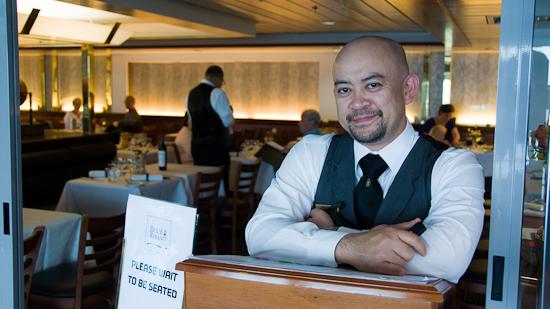 Bild: Ferdinand im A-la-carte Restaurant