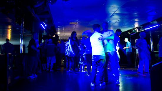 Bild: Disco auf der DFDS King Seaways