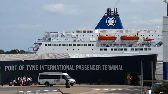 Bild: DFDS Hafen in Newcastle