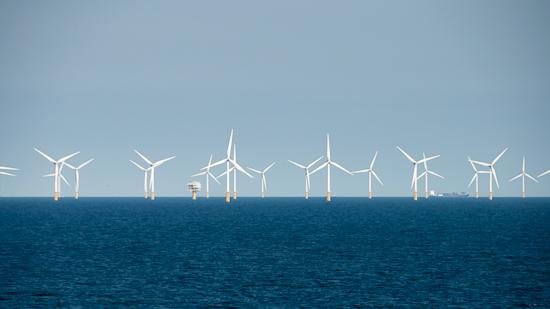 Bild: Windpark vor Ijmuiden