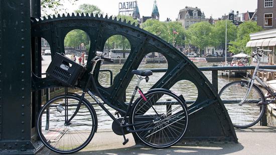 Bild: Brücke Fahrrad