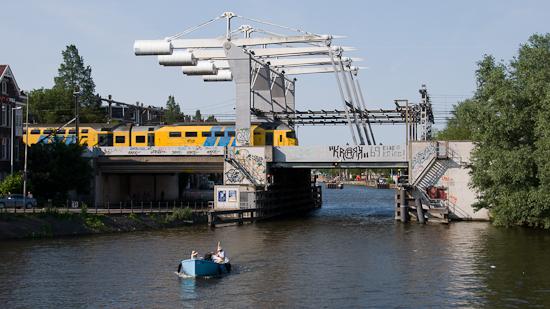 Bild: Eisenbahn-Hubbrücke