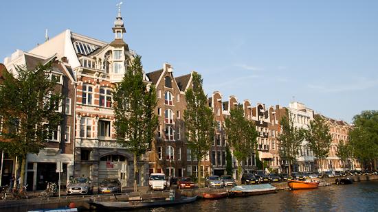 Bild: Häuser in Amsterdam