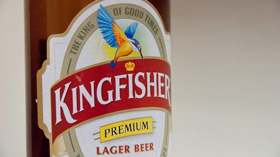 Bild: Kingfisher Bier Label