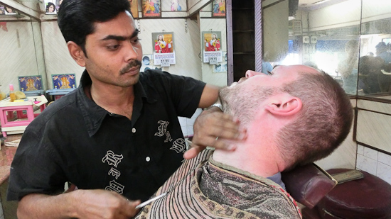 Bild: Barbier in Dhavari