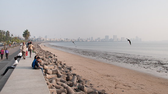 Bild: Marina Drive in Mumbai