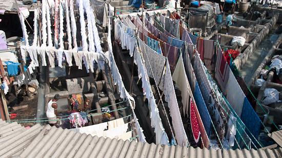 Bild: Wäscherei in Mumbai