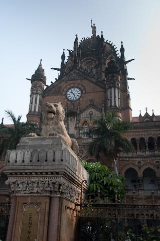 Bild: Victoria Terminus Mumbai