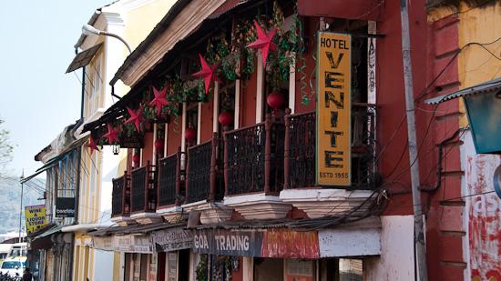 Bild: Hotel Venite in Panaji