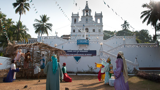 Bild: Kirche Chruch of Our Lady of the Immaculate Conception in Panaji