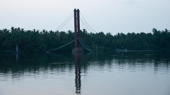 Bild: Eingestürzte Brücke