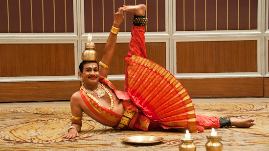 Bild: Show im Hotel Taj West End Bangalore