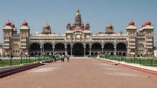 Bild: Palast in Mysore