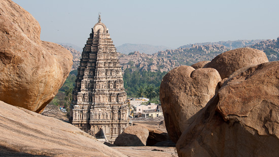 Bild: Tempel in Hampi