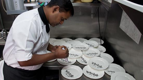 Bild: Küche im Golden Chariot Luxuszug