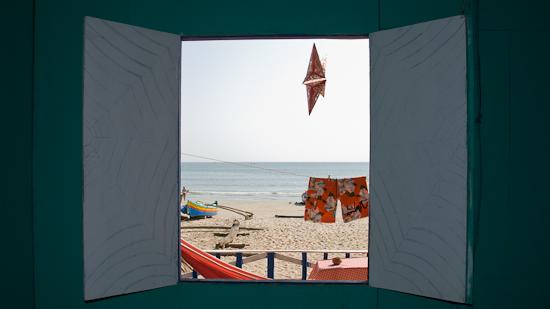Bild: Hütte in Palolem Beach in Goa