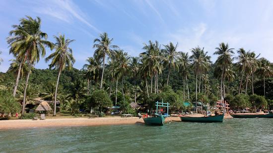 Bild: Rabbit Island in Kambodscha