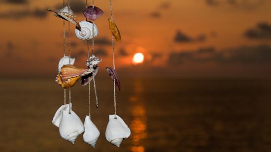 Bild: Sonnenuntergang auf Koh Chang