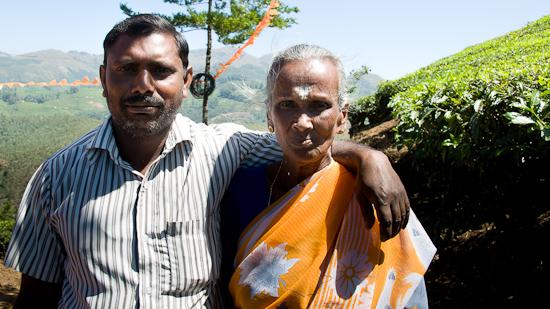 Bild: Gastgeber in der Teeplantage