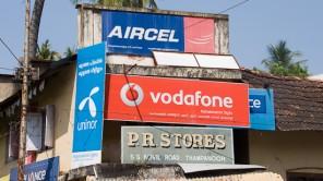 Bild: Mobilfunk-Store in Indien