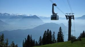 Bild: Blick in die Schweizer Berge