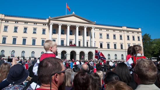 Bild: Königsschloss in Oslo