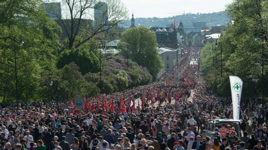 Bild: Parade zum Verfassungstag in Oslo