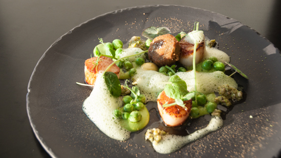 Bild: Fischgericht in der Fiskebaren Kopenhagen