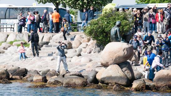 Bild: Kleine Meerjungfrau in Kopenhagen
