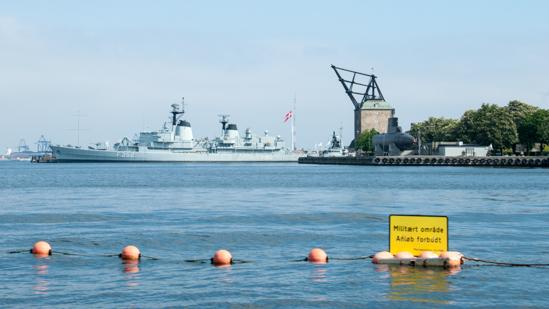 Bild: Militärgebiet in Kopenhagen