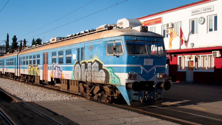 Bild: Regionaltriebwagen Montenegro