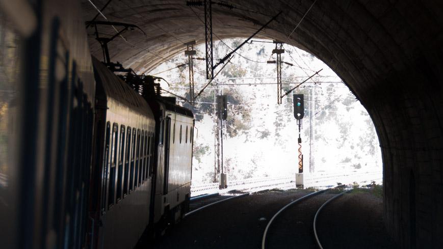 Bild: Tunnel auf der Strecke Belgrad - Bar