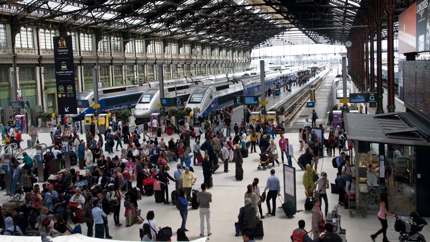 Bild: Gare de Lyon in Paris