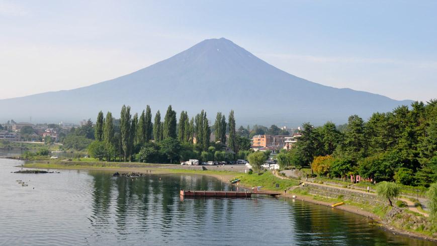 Bild: Fujiyama in Kawaguchiko