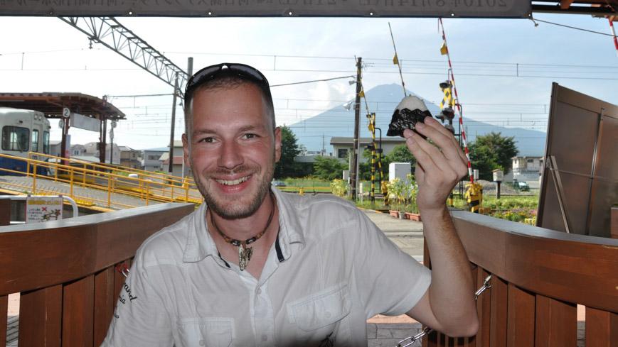 Bild: Onigiri in Fuji Form