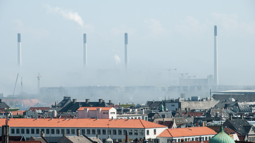 Bild: Industriegebiet Kopenhagen