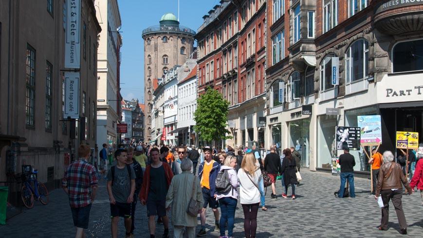 Bild: Runder Turm in Kopenhagen