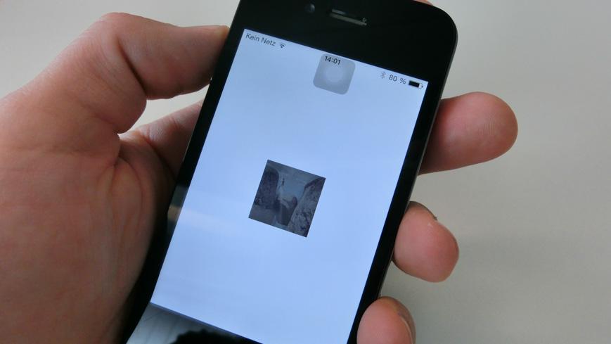 Bild: Animation in der Oslo Pass App