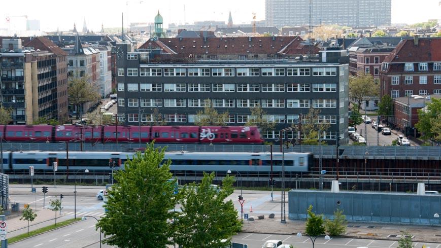 Bild: Züge in Kopenhagen